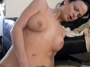 Big titty amateur babe riding her man